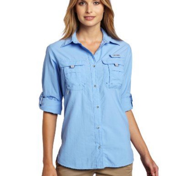0d69f5e2dc8 Columbia Tops | Womens Long Sleeve Fishing Shirt | Poshmark